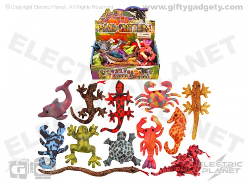 Colourful Sand Animals x 12