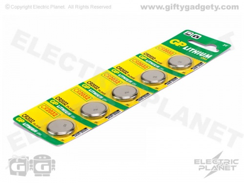 GP Lithium CR2032 Cell Batteries