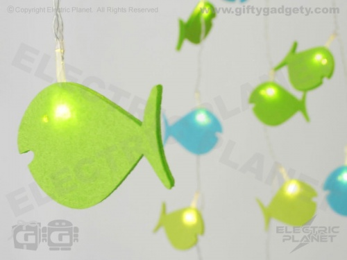 Fish LED Felt Stringlights