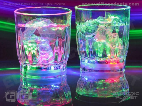 Light-Up Flashing Shot Glasses