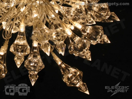 Glitzy Crystal Battery Stringlights