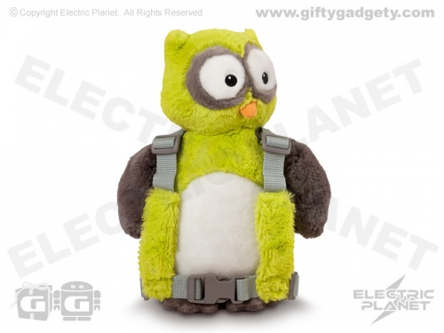 Owl Harness Buddy Backpack & Reins