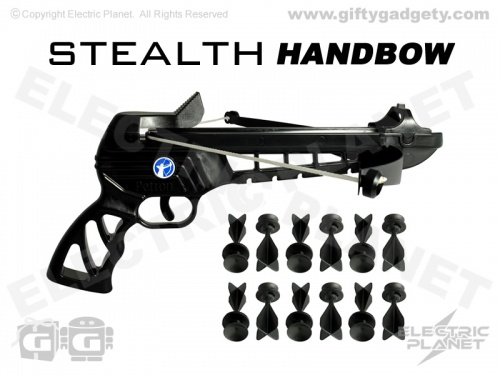 Stealth Handbow With Suction Darts