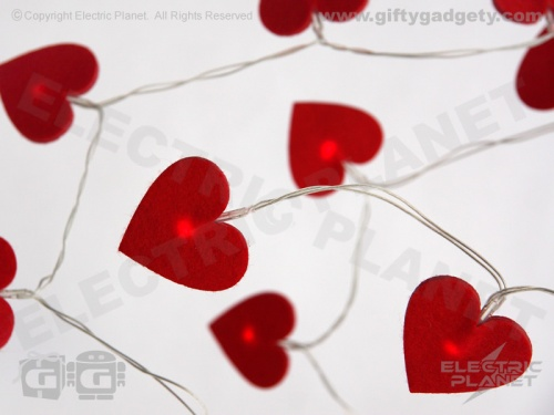 Red Heart Soft LED Lights