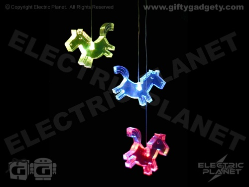 Horse Colour-Changing LED Mobile