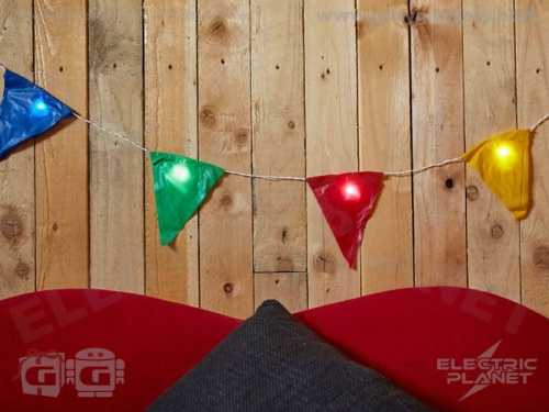 Light-Up Party Bunting