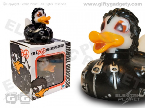 Michael Quackson LED Bath Duck