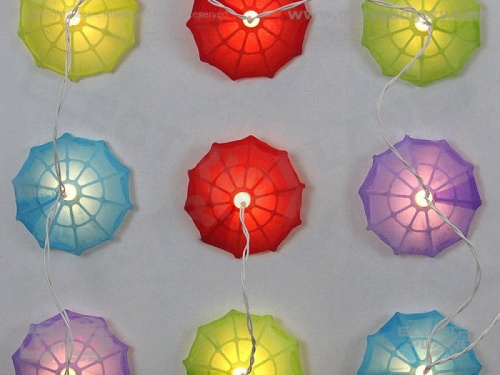Pretty Parasol Stringlights