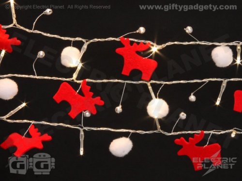Reindeer Jingle Bell Stringlights