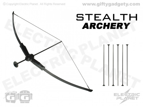 Stealth Archery Bow With Suction Darts