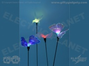 Butterfly Solar Fibre-Optic Garden Light