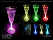 Light-Up LED Champagne Glass