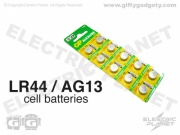 GP Alkaline LR44 (AG13) Batteries x 10