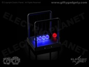 Kinetic LED Newton's Cradle