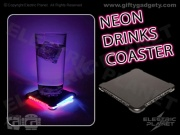 Neon LED Drinks Coaster