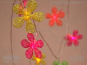 Neon Flower LED Stringlights