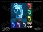 3D Effect Dolphin Light