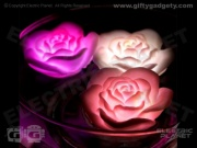 Floating Rose LED Bath Lights