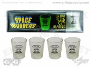 Space Invaders Glow Shot Glasses