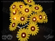 Sunflower Felt Stringlights