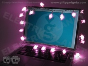 Pink USB Xmas Tree Stringlights