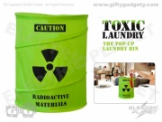 Toxic Pop-Up Laundry Bin