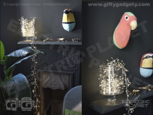 Crystal Cluster String Lights