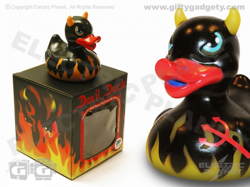 Devil LED Bath Duck