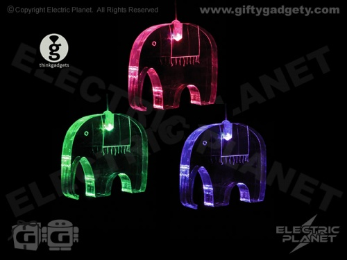 Elephants LED Mobile