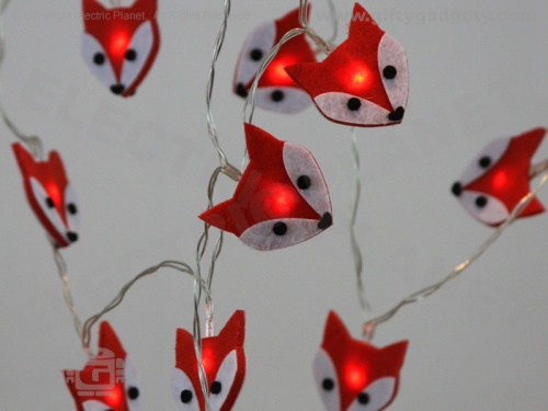 Felt Fox Stringlights
