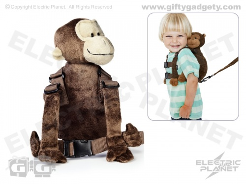 Monkey Backpack Safety Harness & Reins