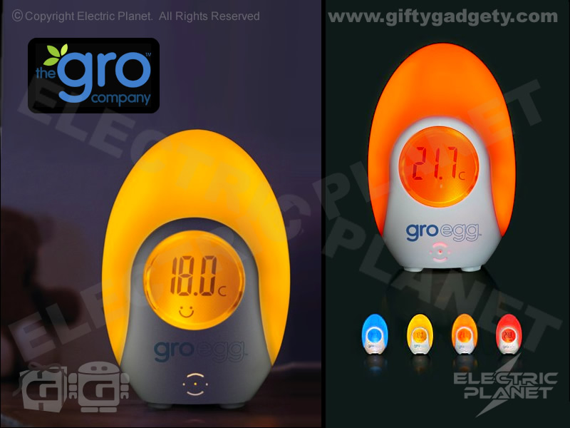 Gro Egg Light-Up Room Thermometer
