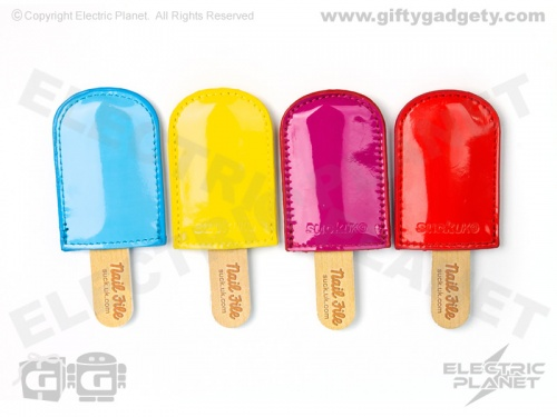 Ice Lolly Nail File & Pouch