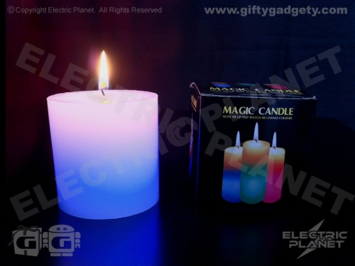 LED Colour-Phasing Magic Candle