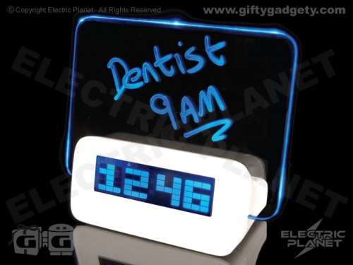 LED Scribble Clock