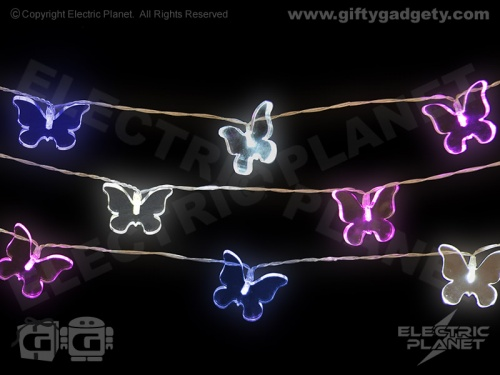 Butterfly Acrylic LED String Lights