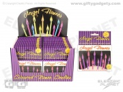 Angel Flames Cake Candles - Purple & Pink