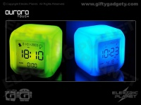 Aurora Touch LED Alarm Clock