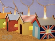 Wooden Beach Hut Lights