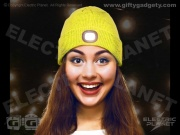 Beamie LED Sports Beanie - Yellow