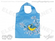 Foldable Shopping Bag - Blue Tit