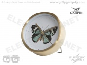 Butterfly Table Alarm Clock