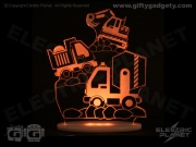 Trucks & Diggers Nightlight