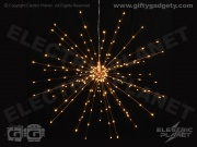 Starburst Hanging Light - Copper 50cm