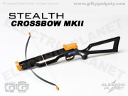 Stealth Crossbow With Suction Darts