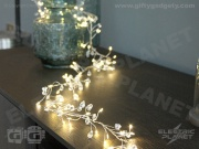 Crystal Cluster Battery String Lights