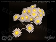 Felt Daisy Fairy Lights