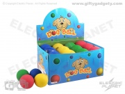 Box of 24 Rubber Dog Balls