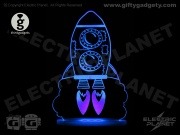 Rocket LED Night Light