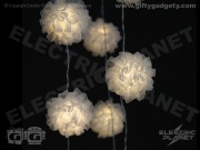 Frilly Pom Pom Fairy Lights